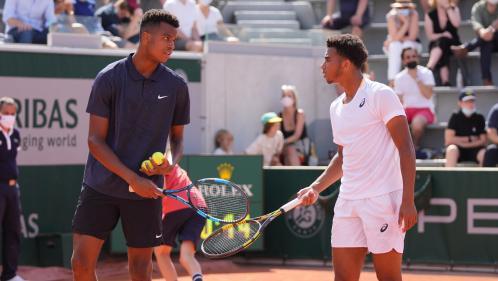 Image de couverture - Roland-Garros 2021 : les Français Fils et Mpetshi Perricard remportent le double juniors