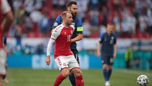 Euro 2021 : le Danois Christian Eriksen, victime d'un malaise en plein match, est