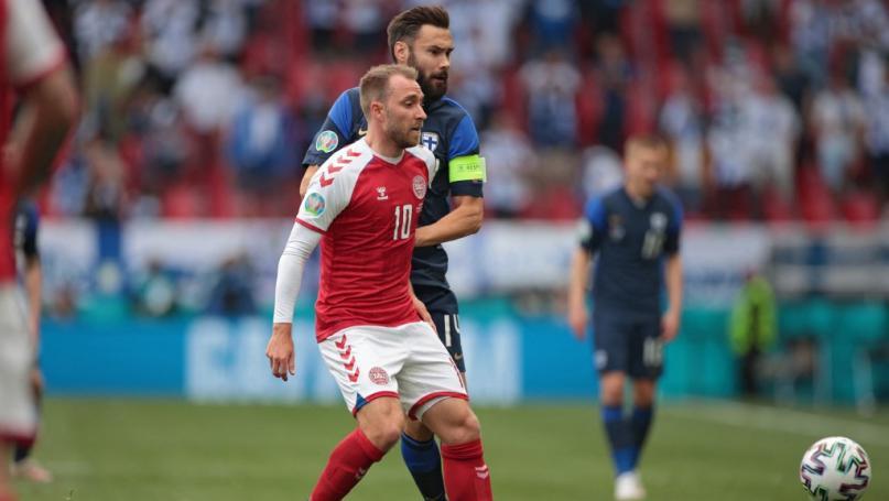 """Image de couverture - Euro 2021 : le Danois Christian Eriksen, victime d'un malaise en plein match, est """"réveillé"""" et hospitalisé"""