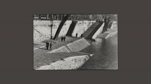 Image de couverture - Henri Cartier-Bresson photographe de Paris au Musée Carnavalet