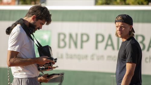 """Image de couverture - Quentin Reynaud, réalisateur du film """"5ème Set"""" : """"J'ai voulu montrer l'envers du décor"""" de Roland-Garros"""