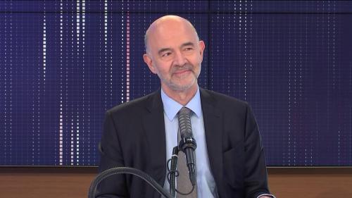 """VIDEO. Présidentielle : Pierre Moscovici estime qu'on ne peut """"comparer le danger"""" de l'extrême droite avec """"aucun autre"""""""