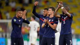 Image de couverture - France-Allemagne : Mbappé mal payé, Rabiot au niveau, Griezmann peu en vue... Les notes des Bleus