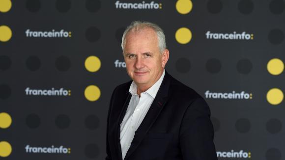 Olivier de Lagarde présente Les informés sur franceinfo.