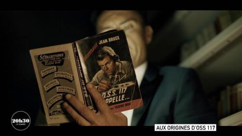 """L'écrivain Jean Bruce a créé ce personnage d'espion de l'Office of Strategic Services en1949. Ce résistant avait lui-même rencontré, pendant la Seconde Guerre mondiale, un agent de ce service de renseignement américain portant le matricule117… Extrait du magazine """"20h30 le samedi"""" diffusé le 19 juin 2021, juste après le journal de France 2."""