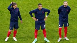 Image de couverture - Euro 2021 - Hongrie-France : après les sacrifices contre l'Allemagne, le trio offensif des Bleus est très attendu