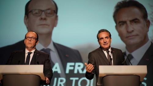 """Image de couverture - """"Présidents"""" : François Hollande assiste à l'avant-première du dernier film d'Anne Fontaine, montré à Tulle"""