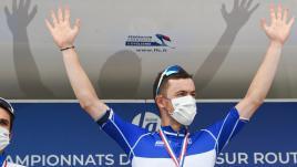 Image de couverture - VIDEO. Cyclisme : le résumé de l'éclatante victoire de Rémi Cavagna, nouveau champion de France sur route