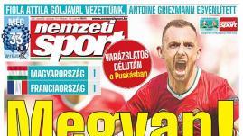 """Image de couverture - Hongrie-France : Un match nul """"miraculeux"""" après """"une performance fantastique"""", selon la presse hongroise"""