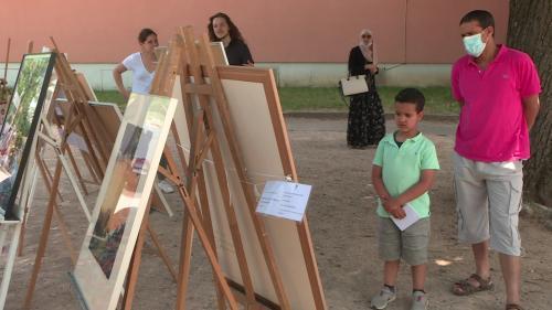 """Image de couverture - """"Artobus"""": à Villefranche-sur-Saône, les œuvres du musée Paul-Dini vont à la rencontre des habitants"""