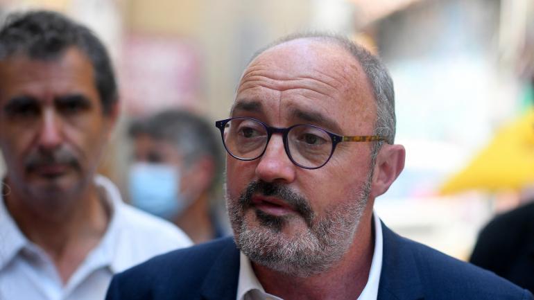 Le candidat écologiste aux élections régionales en Provence-Alpes-Côte d\'Azur,Jean-Laurent Félizia, le 15 juin 2021 à Marseille.