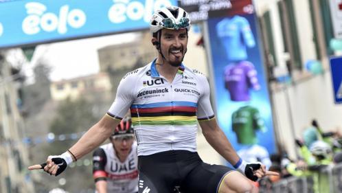 Image de couverture - Tour de France 2021 : Julian Alaphilippe, un Tour haut en couleurs avec le maillot arc-en-ciel ?