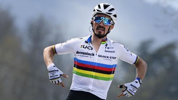 """Image de couverture - Tour de France 2021 : """"Le Tour me donne toujours envie d'aller de l'avant"""", s'enthousiasme Julian Alaphilippe"""
