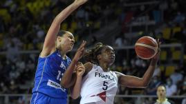 Image de couverture - EuroBasket 2021 : revivez la qualification des Françaises pour les demi-finales aux dépens de la Bosnie