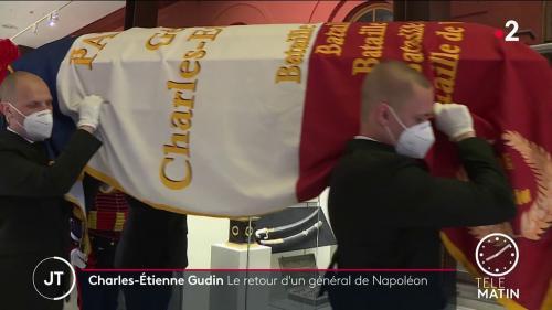 La dépouille du général Charles Étienne Gudin, tombé lors de la campagne de Russie, va rentrer en France. Des fouilles avaient permis de découvrir ses ossements en 2019.