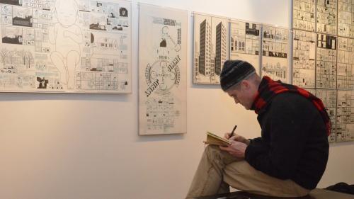 """Image de couverture - """"Chris Ware a poussé l'alphabet de la bande dessinée à l'extrême"""", selon Rina Zavagli-Mattotti, qui a exposé l'œuvre du Grand Prix d'Angoulême 2021"""