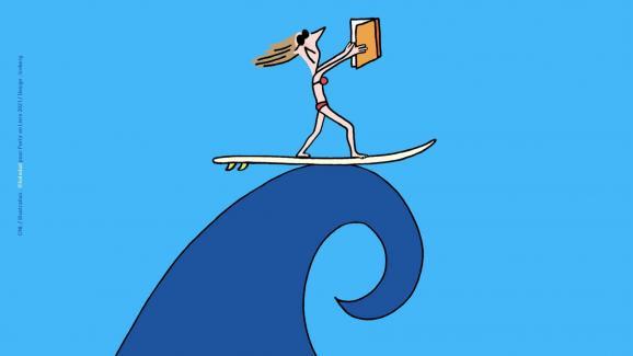"""""""Αφήνοντας βιβλία, θάλασσες και θαύματα """", Tessin de Soledot"""