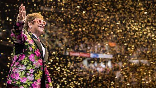 Le chanteur Elton John reprend sa tournée d'adieux à travers le monde, avec un concert à Paris le 11 juin 2022