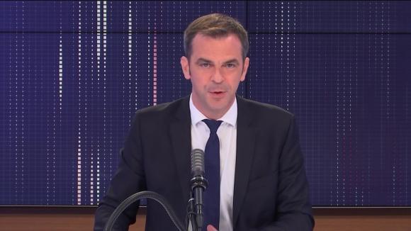 """Olivier Véran, ministre des Solidarités et de la Santé était l'invité du """"8h30 franceinfo"""", mardi 29 juin 2021."""