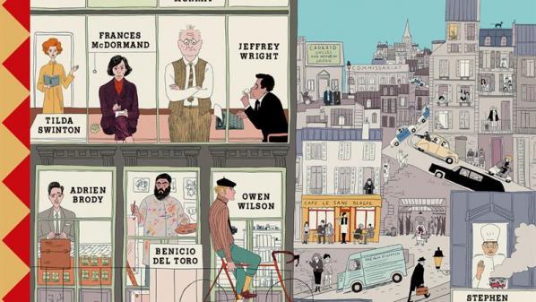 Le nouveau film deWesAnderson, The FrenchDispatch, sort lemercredi27 octobre au cinéma.Le réalisateur a imaginé la vie dans une ville française duXXèsiècle, c'est une villefictive, maisqui a pour décor Angoulême, en Charente.
