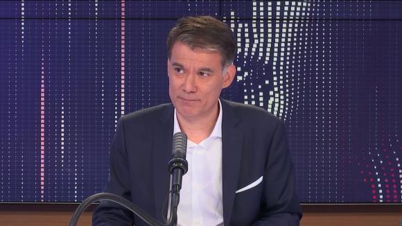 """Olivier Faure, le Premier secrétaire du Parti Socialiste et député de Seine-et-Marne était l'invité du """"8h30 franceinfo"""", vendredi 16 juillet 2021."""
