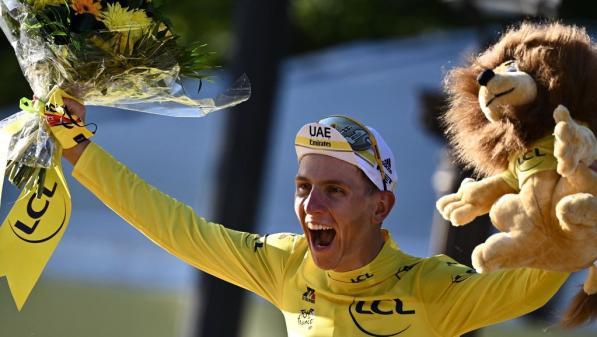 Image de couverture - Tour de France 2021 : Tadej Pogacar, un sacre en clair-obscur