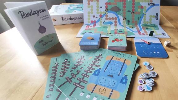 But du jeu Randognon : arriver en premier. Pour cela, les joueurs parcourent une carte et peuvent jouer à tour de rôle des bonus / malus / ultras qui influencent leur vitesse d'avancement, et celle des autres.