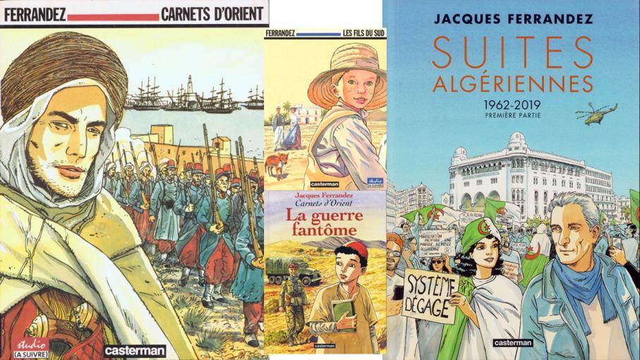 """BD, bande dessinée. Un été en séries : """"Carnets d'Orient"""" de Jacques Ferrandez"""