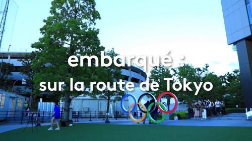 """Image de couverture - REPLAY. JO 2021 : regardez """"Embarqué : sur la route de Tokyo"""", un magazine consacré à la préparation des sportifs français"""