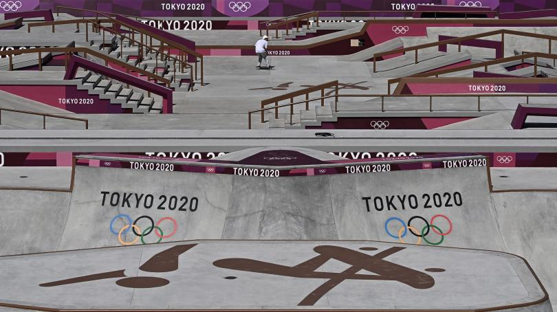 Image de couverture - DIRECT. JO 2021 : Jérémy Flores passera par les repêchages du surf, deux Français en lice au skateboard ... Suivez la nuit à Tokyo