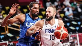 Image de couverture - JO Tokyo 2021 : l'équipe de France de basket renverse l'ogre américain et lance parfaitement son tournoi
