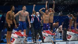 Image de couverture - JO 2021 : le relais 4x100 mètres nage libre français échoue à la 6e place, les Américains conservent leur titre