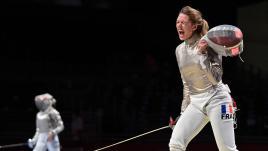 Image de couverture - DIRECT. JO 2021 : la sabreuse Manon Brunet en quarts, la judokate Sarah Leonie Cysique qualifiée en demies... Suivez la troisième journée d'épreuves à Tokyo