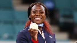 Image de couverture - JO 2021 - Judo : Clarisse Agbégnénou, de la frustration de Rio à la consécration de Tokyo