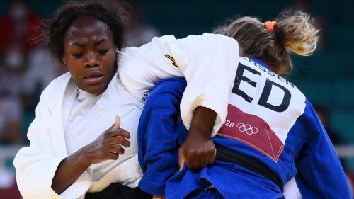 VIDÉO. JO 2021 - Judo : Clarisse Agbegnenou se qualifie sans encombre en demi-finales