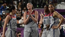 VIDEO. JO 2021 - Basket 3x3 : les États-Unis remportent l'or après leur succès face à la Russie