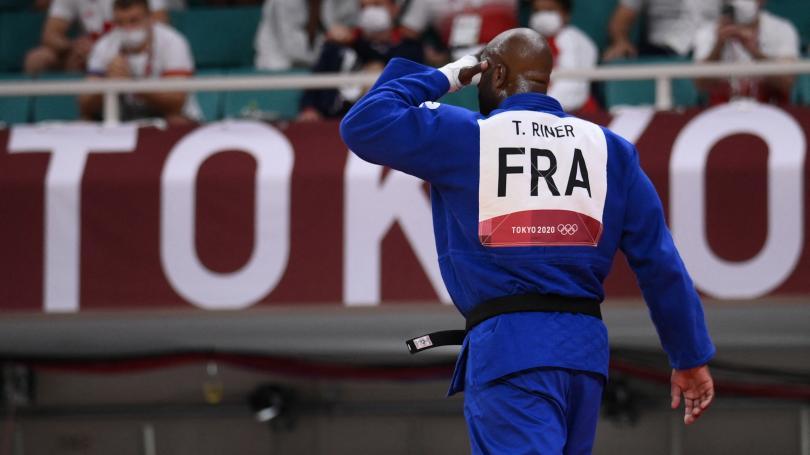 Image de couverture - JO 2021 - Judo : terrible désillusion pour Teddy Riner éliminé en quarts de finale et qui ne sera pas champion olympique une troisième fois