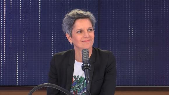 """Sandrine Rousseau,candidate à la primaire d'Europe Ecologie-Les Verts en vue de la présidentielle était l'invitée du """"8h30 franceinfo"""", vendredi 30 juillet 2021. Elle répondait aux questions de Marie Bernardeau et Jean-Jérôme Bertholus."""