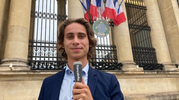 Depuis mars 2020, Victor Lavolé est conseiller municipal dans la petite commune de Saint-Coulomb, en Ille-et-Vilaine.