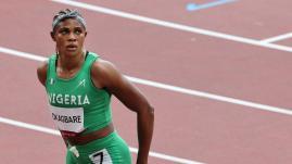 Image de couverture - JO 2021 : la sprinteuse nigériane, Blessing Okagbare, suspendue pour dopage