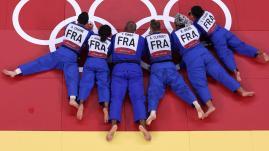 Image de couverture - VIDEO. JO 2021 - Judo : revivez l'intégralité des cinq combats de la finale par équipes mixtes remportée par la France contre le Japon