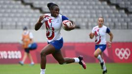 Image de couverture - JO 2021 - Rugby à 7 : les Bleues domptent les Britanniques et se qualifient en finale