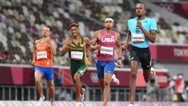 Image de couverture - JO 2021 : pas de finale pour van Niekerk sur 400 m, deux nouveaux records en cyclisme, les Etats-Unis éliminés en foot féminin... Ce qu'il faut retenir de la journée à Tokyo