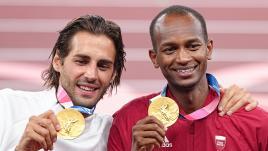Image de couverture - JO 2021 : pourquoi les deux sauteurs en hauteur Gianmarco Tamberi et Mutaz Essa Barshim se sont-ils partagé l'or olympique ?