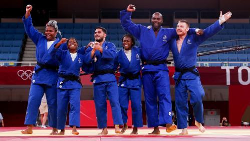 Image de couverture - JO 2021 : brillant par équipes, convaincant en individuel, le judo français a déjà les yeux rivés vers Paris 2024