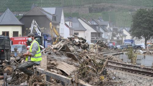 Inondations en Allemagne: la justice ouvre une enquête sur la gestion des alertes et des évacuations