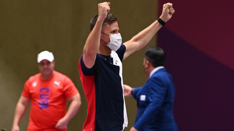 Image de couverture - JO de Tokyo : sixième médaille d'or pour la France grâce à Jean Quiquampoix au tir rapide au pistolet à 25 mètres