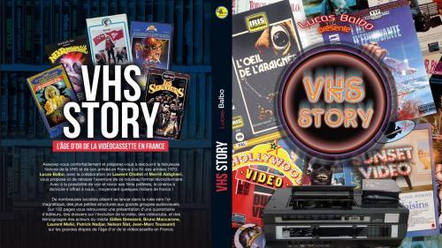 """Image de couverture - """"VHS Story"""" : Lucas Balbo fait revivre la K7 VHS dans un ouvrage archi-documenté"""