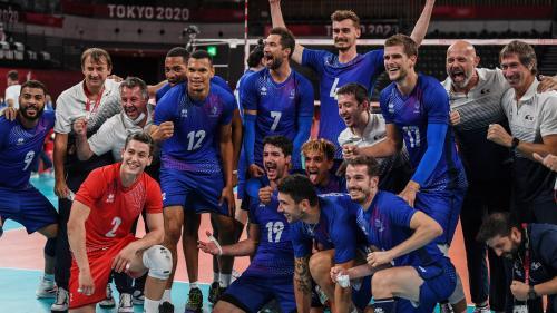 JO 2021 - Volley : les Français créent l'exploit face à la Pologne et se qualifient pour les demi-finales