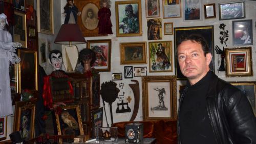 Image de couverture - Entretien avec un vampirologue : Jacques Sirgent se bat pour redonner vie à son musée